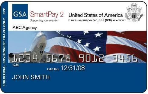 Chase Visa Government Travel Card